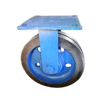 چرخ سنگین پاترولی روکش لاستیک(ثابت)