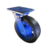 چرخ سنگین پاترولی روکش لاستیک(گردان)